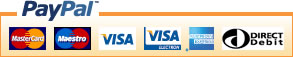 We accept payments by PayPal